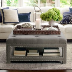 Octavia Ottoman by Williams Sonoma